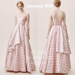 NWT ANTHROPOLOGIE BHLDN FAME Tosia Gingham Dress 4